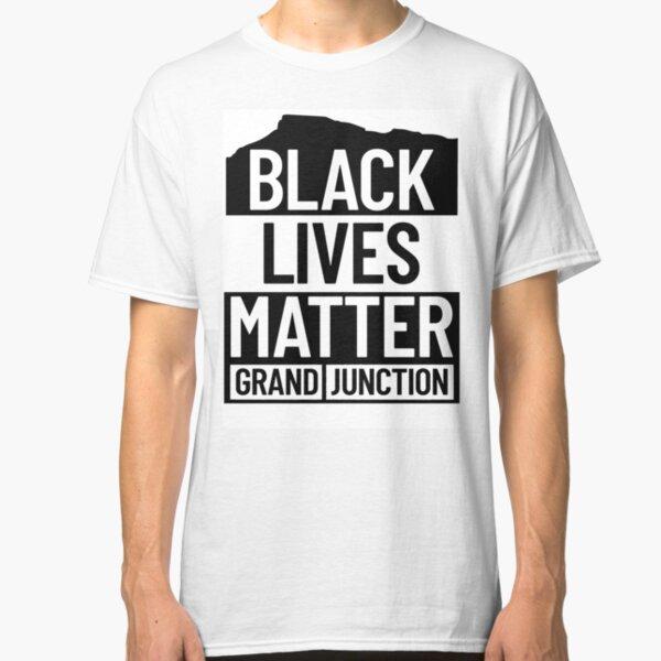 Black Lives Matter GJ - White Classic T-Shirt
