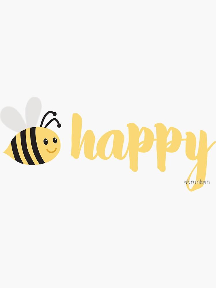 Biene glücklich von sbrunken