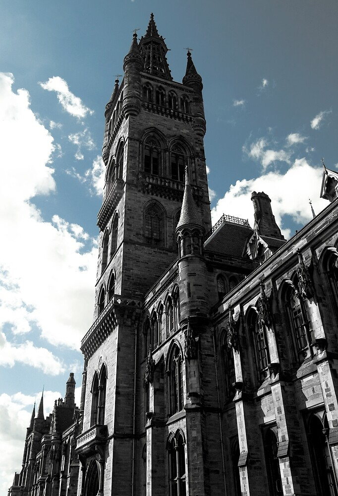 Glasgow University by Gordon Hunt