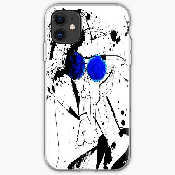 Hunter in Blues iPhone Soft Case