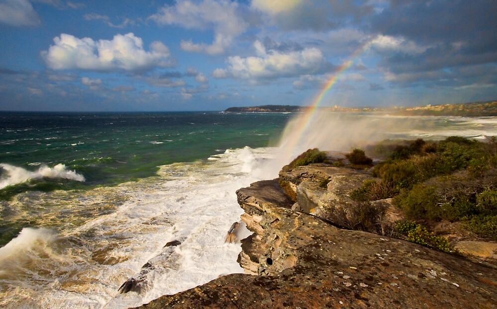 Sea Spray Rainbow by Jason Ruth