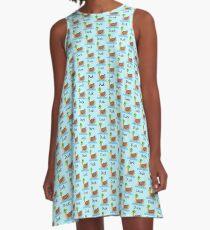 Quack Quack Duck A-Line Dress
