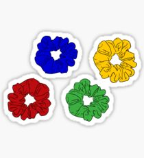 Scrunchie Set Sticker