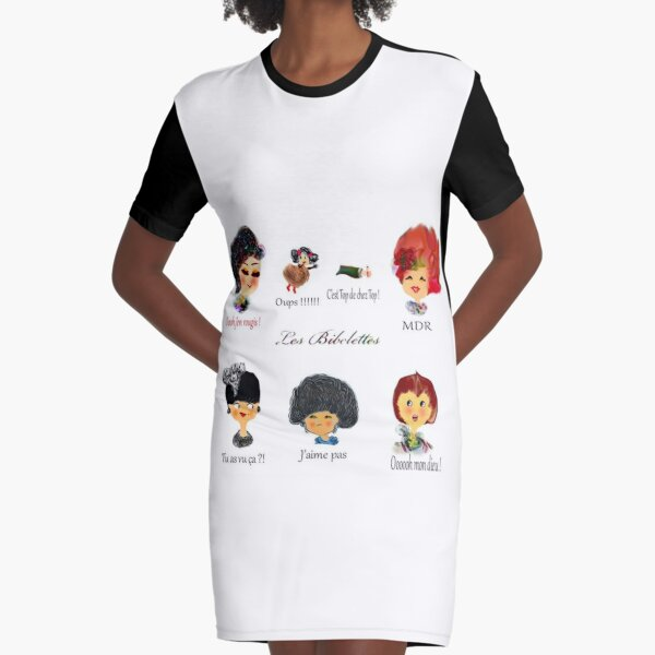 Emotions Les Bibelettes Robe t-shirt