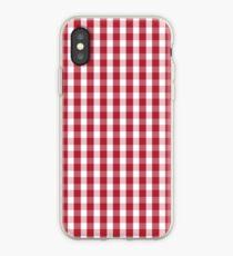 USA Flagge rot und weiß karierte überprüft iPhone-Hülle & Cover