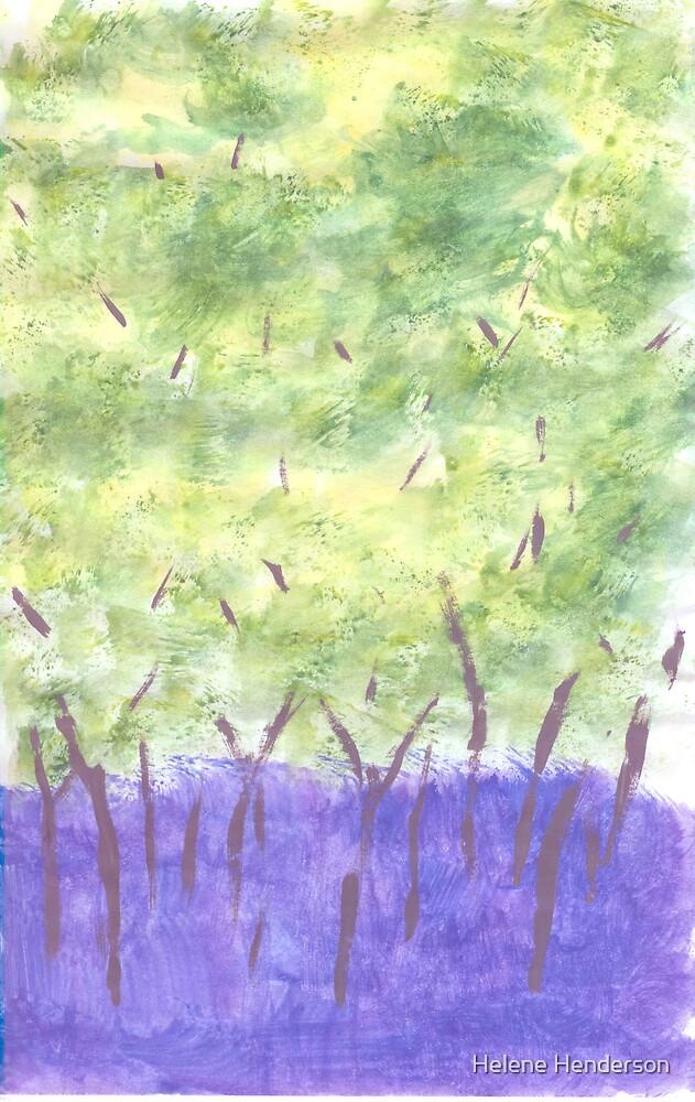 Bluebell Woods No. 2 by Helene Henderson
