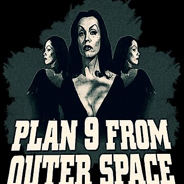 Plan 9 from Outer Space by kawaiikastle