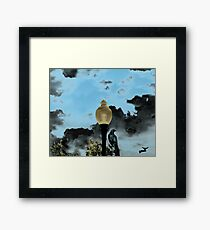 THE OMINIOUS Framed Print