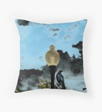 THE OMINIOUS Throw Pillow