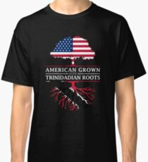 American Grown with Trinidadian Roots   Trinidad and Tobago Design Classic T-Shirt
