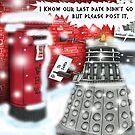 Post Christmas Dalek by ToneCartoons