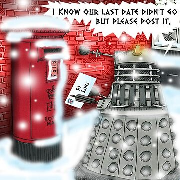 Post Christmas Dalek by ToneCartoons