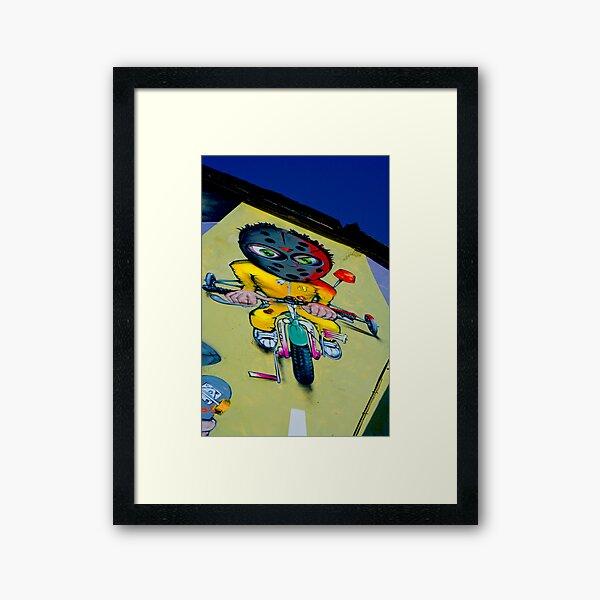 Mad Triker Framed Art Print