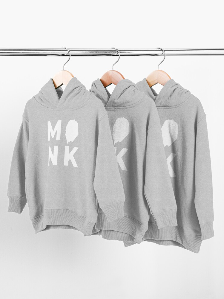 Alternate view of Thelonious Monk - Head Toddler Pullover Hoodie