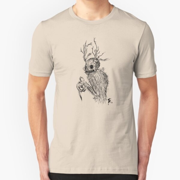 Forest Horror Slim Fit T-Shirt