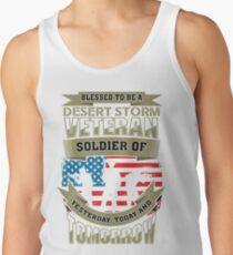 Desert Storm Men and Women T Shirt Tank Top