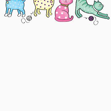 Little kitties by sallyally