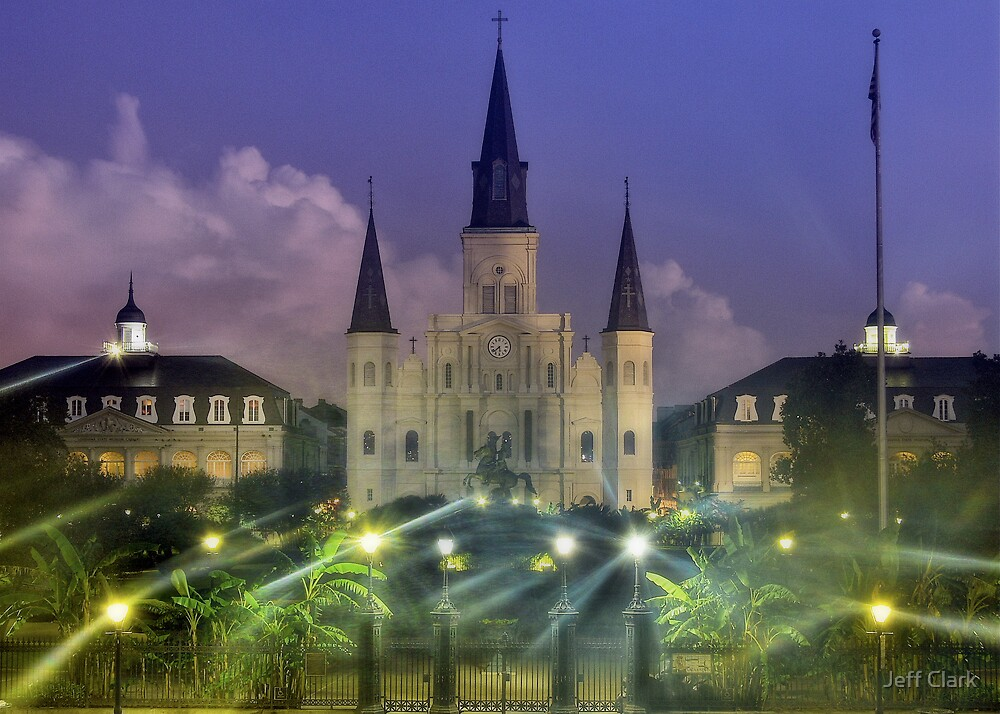 Saint Louis Cathedral by Jeff Clark
