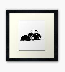 Tractor Framed Print