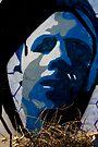 Blue Man by photosbyflood
