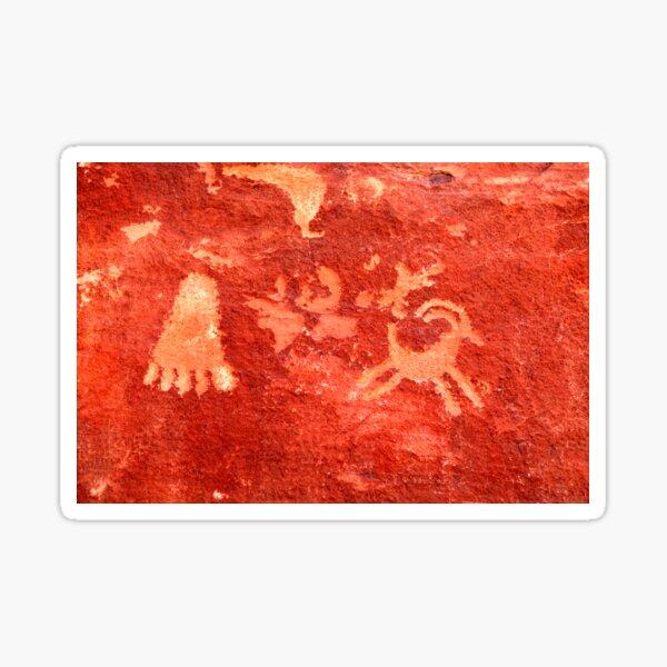 Atlatl Rock Petroglyphs Sticker