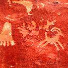 Atlatl Rock Petroglyphs by Jonathan Maddock