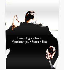 Vajramukti: Love, Light, Truth, Widsom, Joy, Peace, Bliss Poster