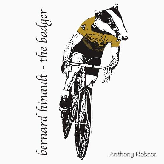 TShirtGifter presents: Le Tour: Bernard Hinault
