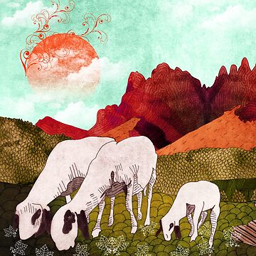 Mountain goats2 by Design4uStudio