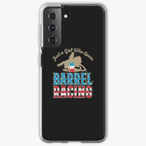 Just A Girl Who Loves Barrel Racing Samsung Galaxy Soft Case