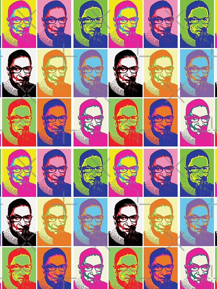 Notorious RBG - Pop Art Blast by Thelittlelord