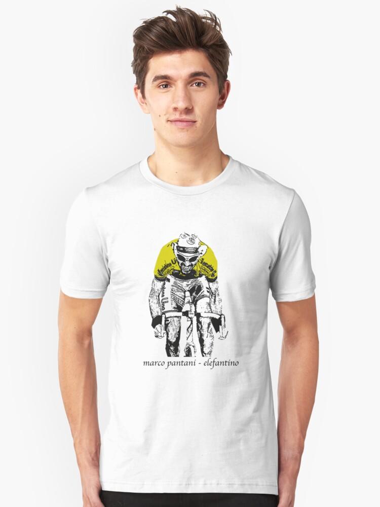 Le Tour: Marco Pantani Unisex T-Shirt Front