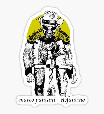 Le Tour: Marco Pantani Sticker