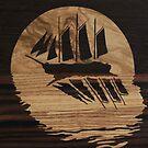 « Bateau au clair de lune » par Mhumbertjean