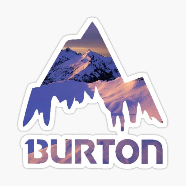 Burton Sunset Sticker