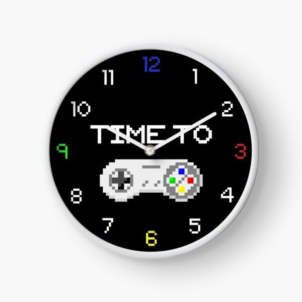 Time to Game 8-Bit Design Clock