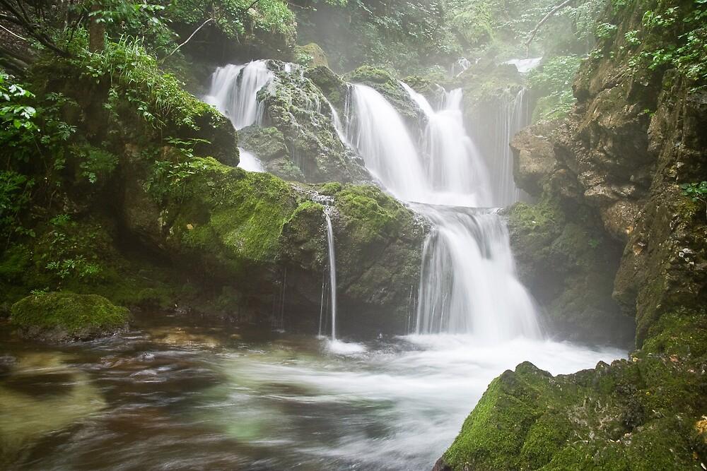 Kroppe Waterfall by John Burtoft