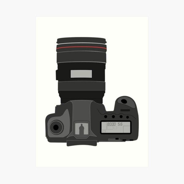 Camera Camera Photographer Photoshoot Art Print