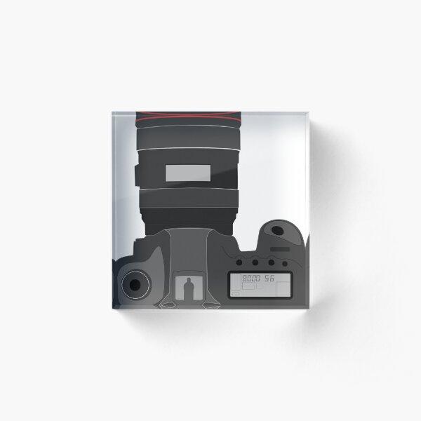 Camera Camera Photographer Photoshoot Acrylic Block