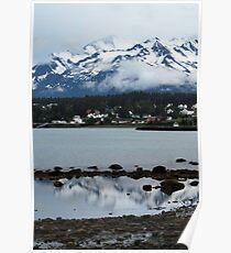 Haines at Dusk ~ Alaska Poster