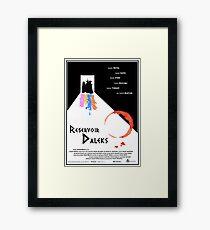 Reservoir-Daleks Framed Print