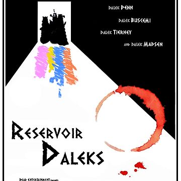 Reservoir-Daleks by ToneCartoons