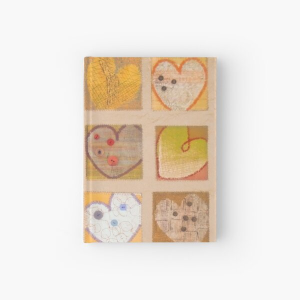 All Hearts Beat, Like a Whisper from Heaven Hardcover Journal