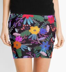 Floral 3 Mini Skirt