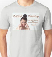 Critical Thinking Unisex T-Shirt