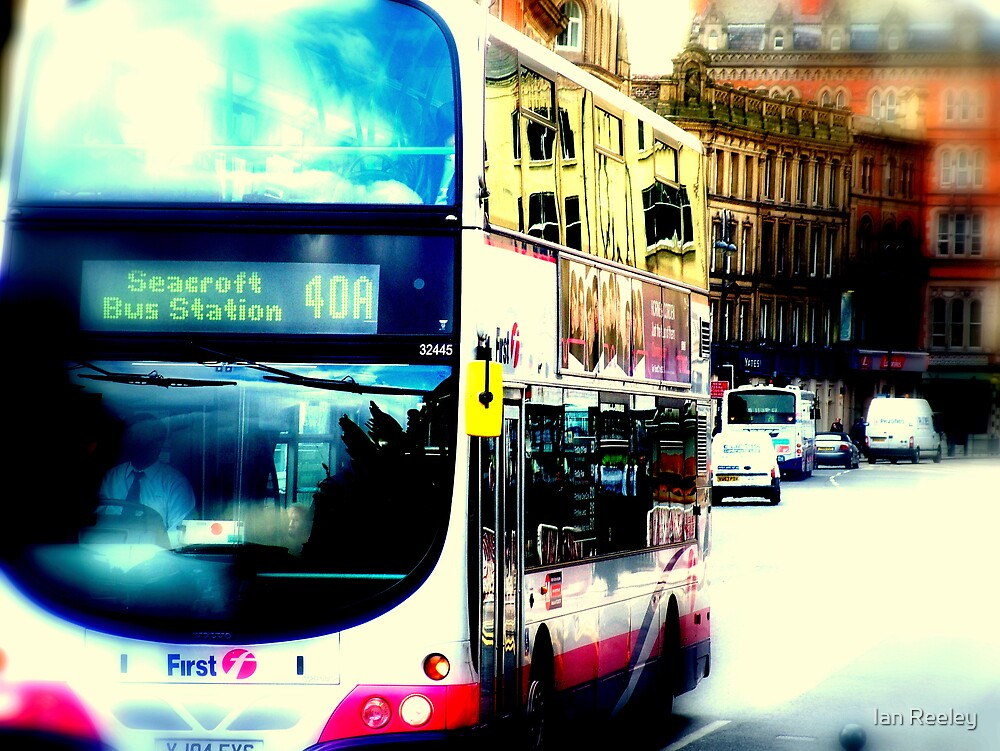 The Seacroft Bus, Leeds by Ian Reeley