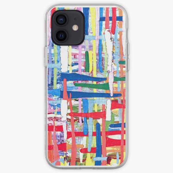 The Torn Canvas. iPhone Soft Case