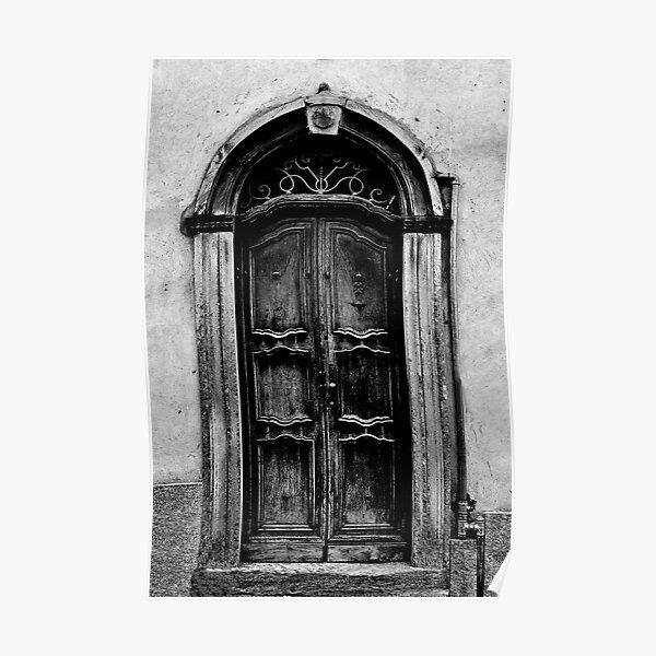 The Door in Black&White Poster