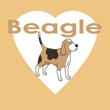 Beagle Dog T-Shirt by deanworld