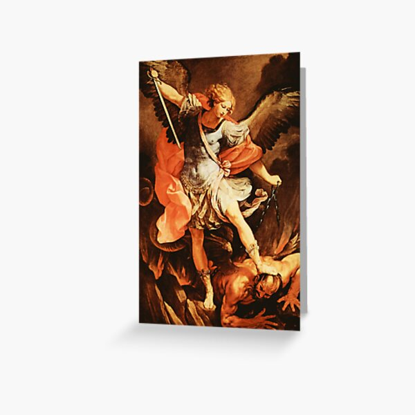 St. Michael Archangel Greeting Card